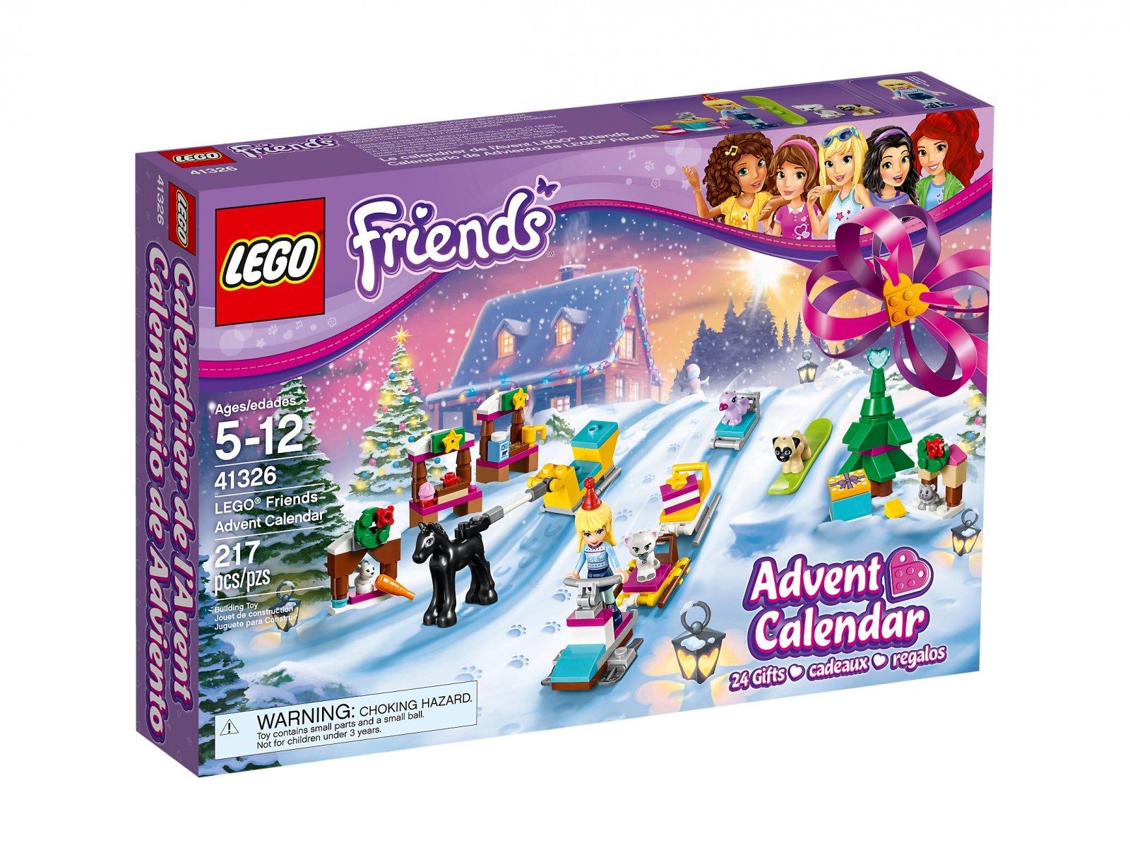 Lego 41326 Friends Kalendarz Adwentowy Zklockówpl