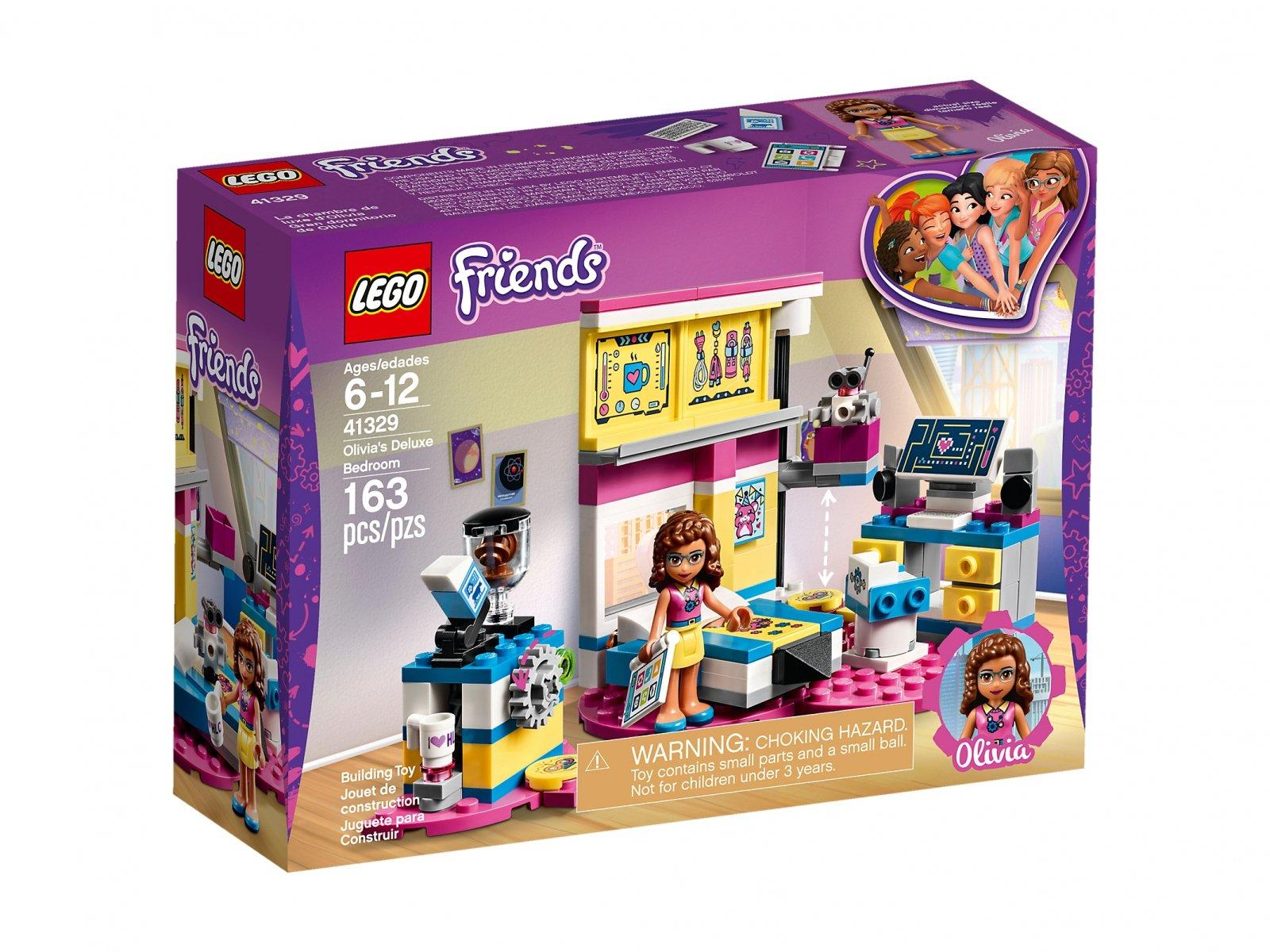 LEGO Friends Sypialnia Olivii