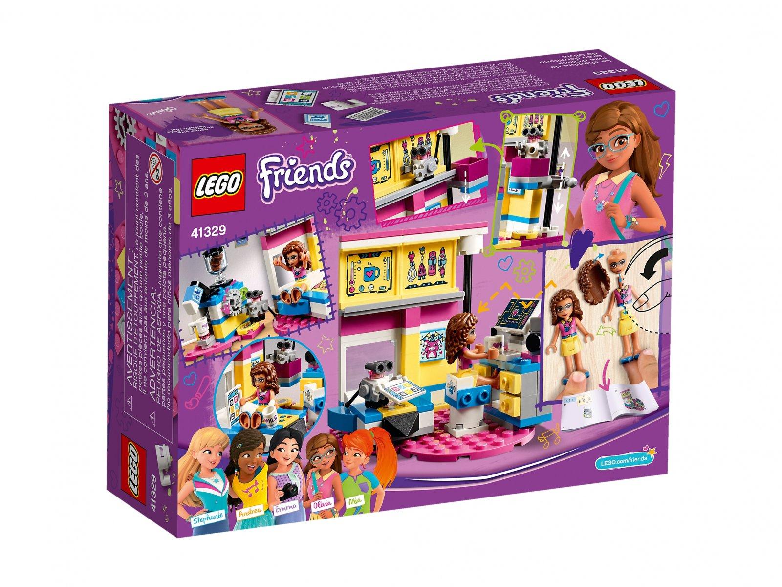 Lego 41329 Friends Sypialnia Olivii Zklockówpl