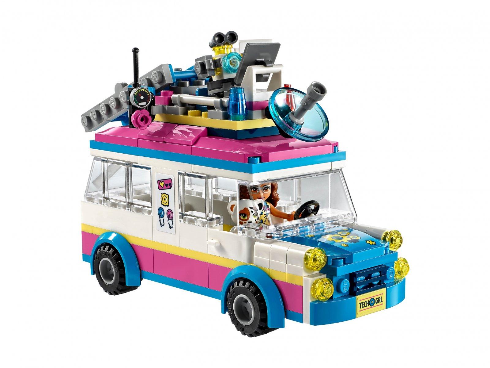 LEGO 41333 Furgonetka Olivii