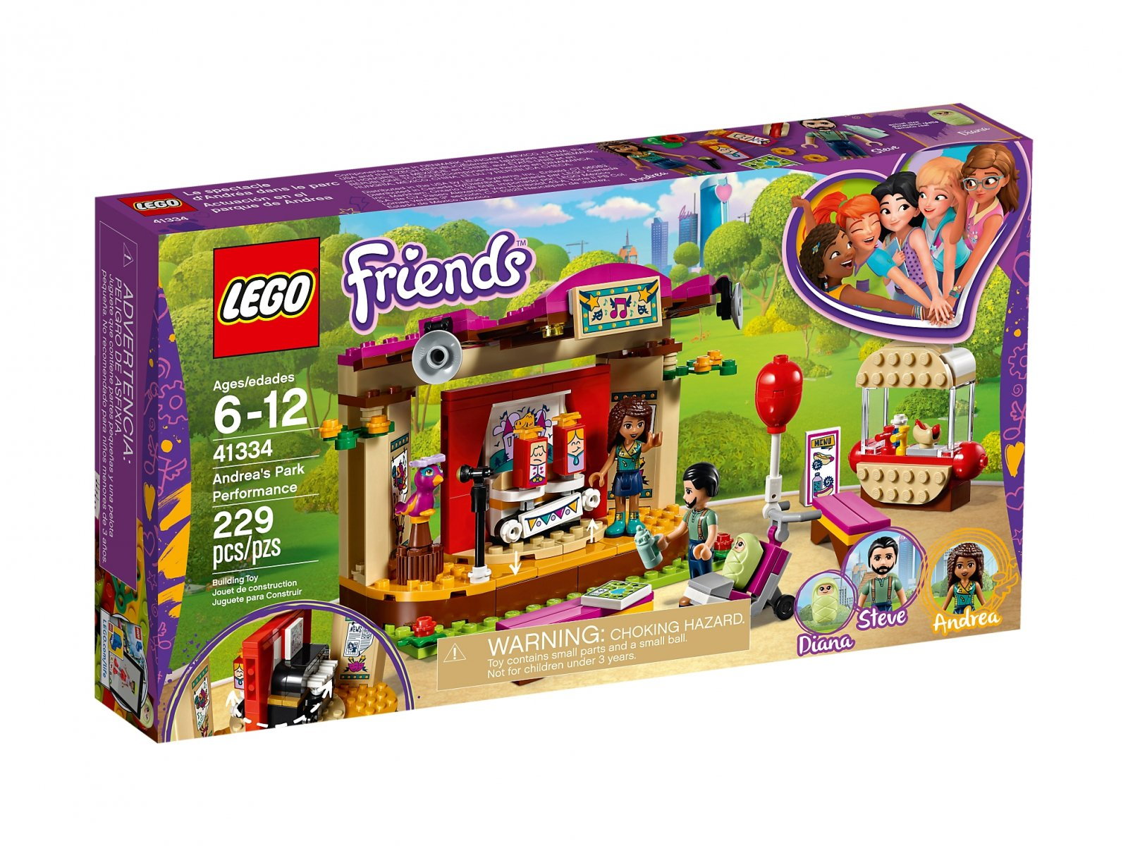 LEGO Friends Pokaz Andrei w parku