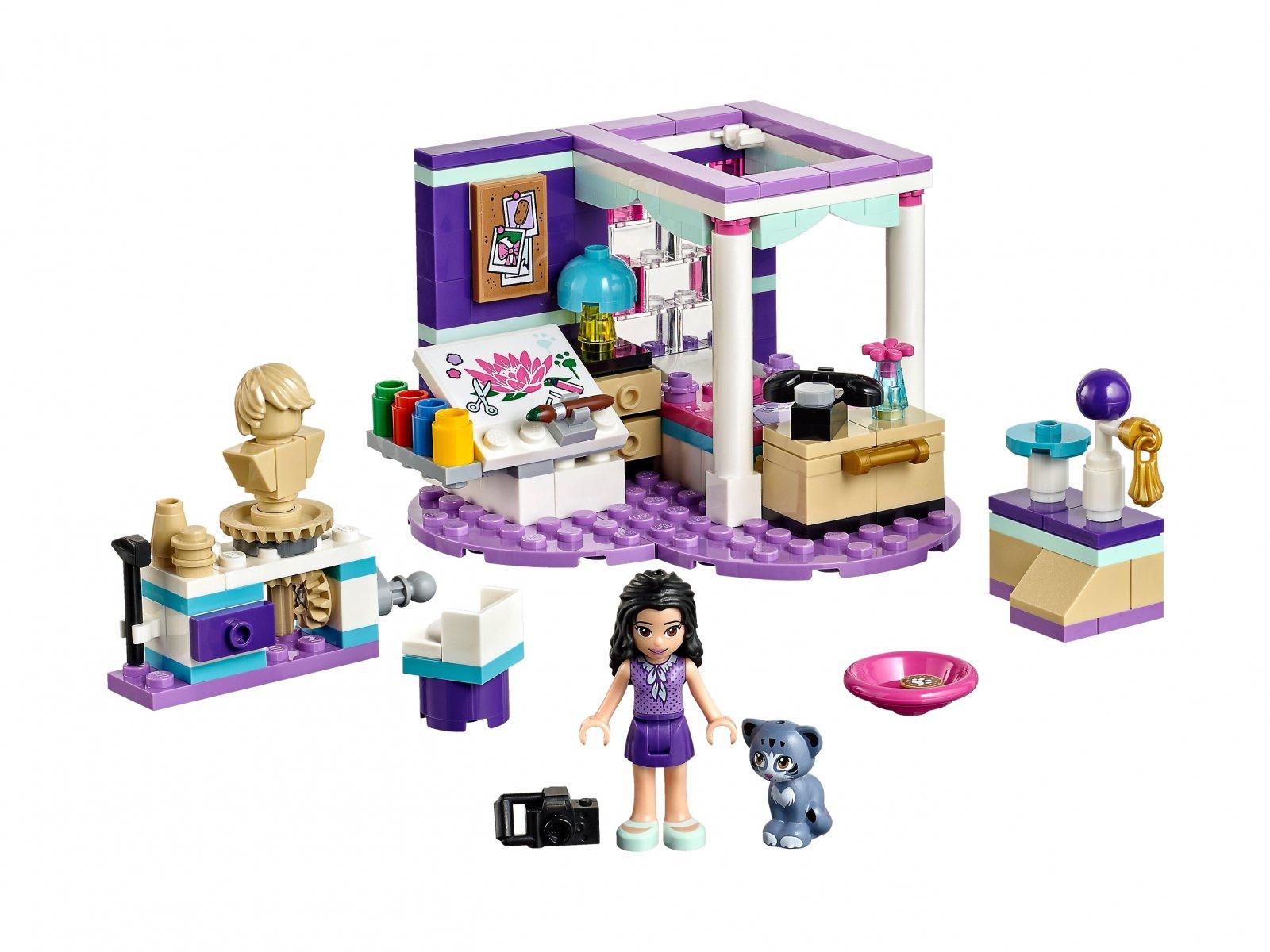 LEGO Friends Sypialnia Emmy 41342