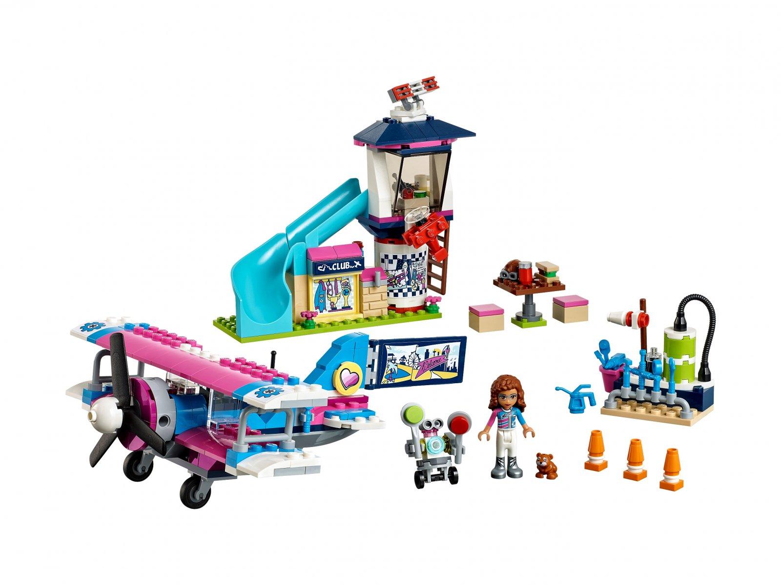 Lego Friends 41343 Lot samolotem nad Miastem Heartlake