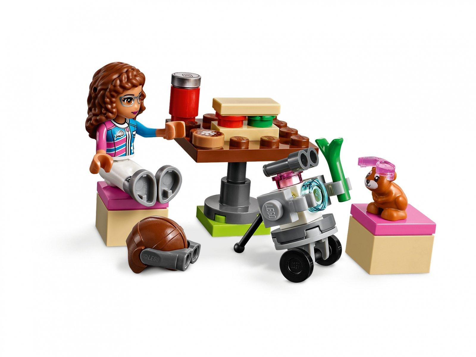 LEGO 41343 Lot samolotem nad Miastem Heartlake