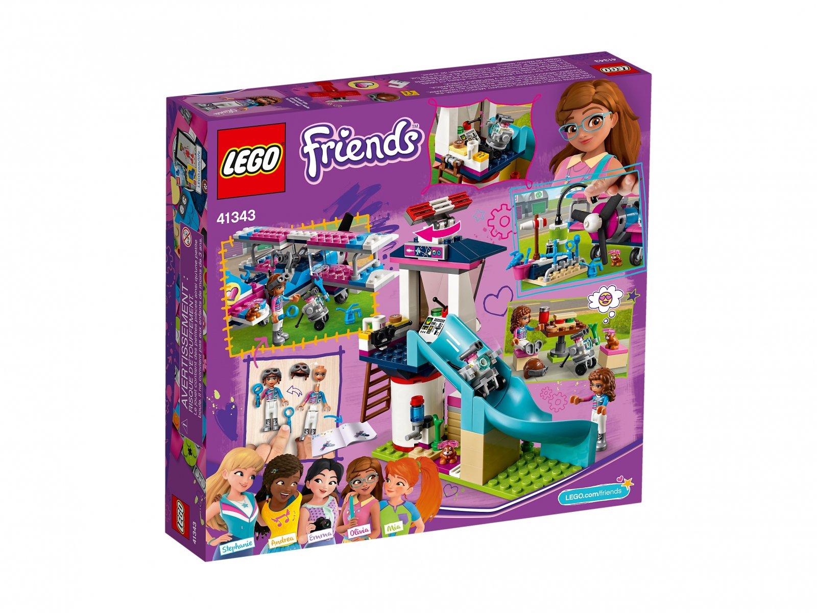 LEGO 41343 Friends Lot samolotem nad Miastem Heartlake
