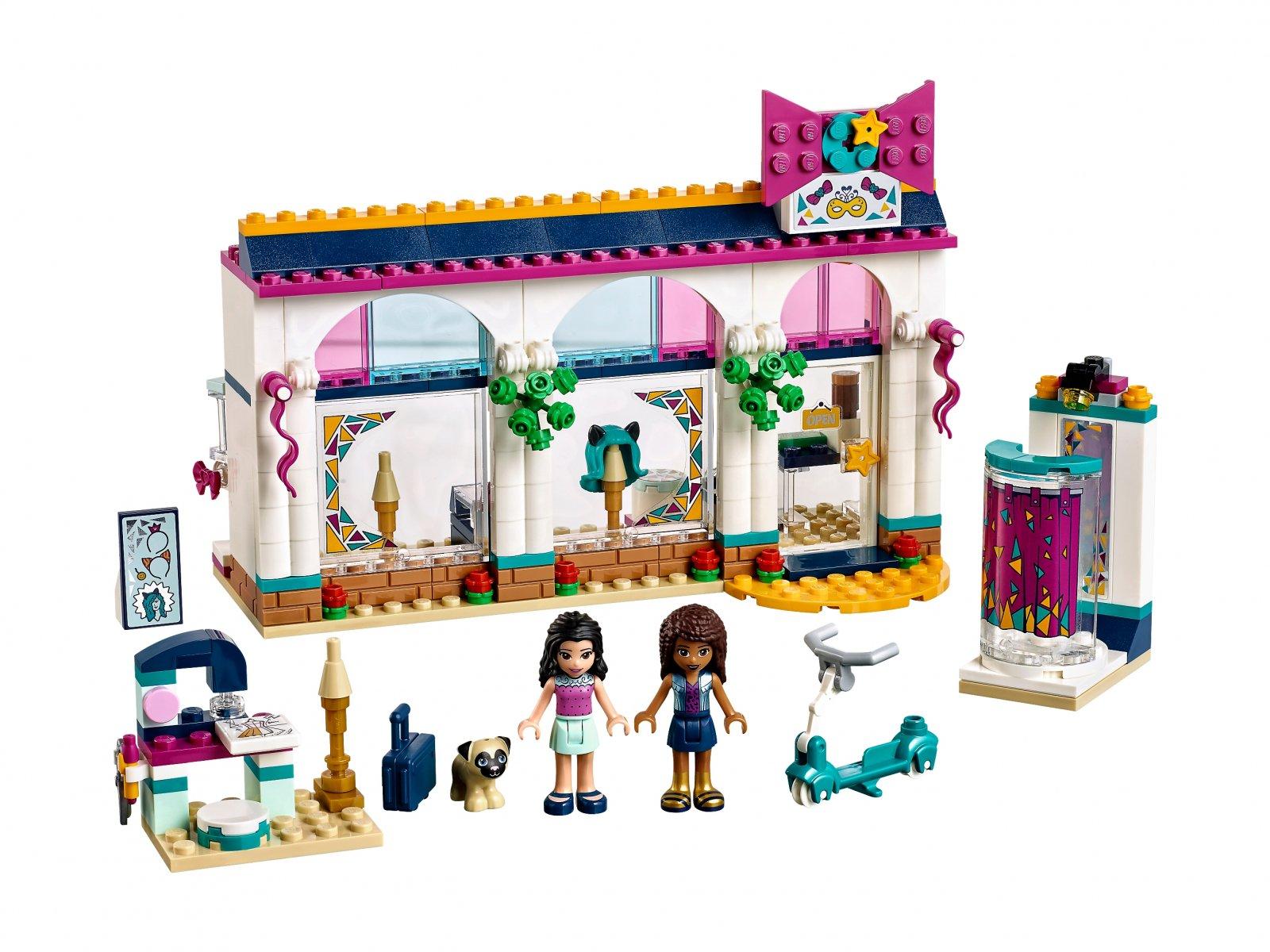LEGO Friends Sklep z akcesoriami Andrei 41344