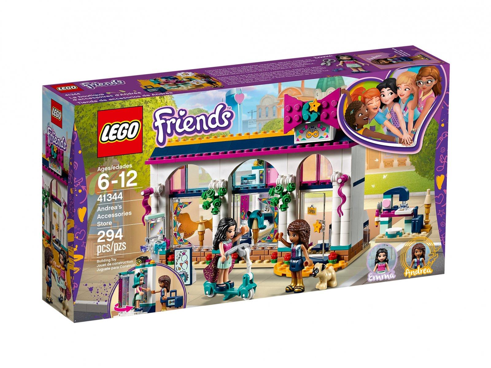 Lego 41344 Friends Sklep Z Akcesoriami Andrei Zklockówpl