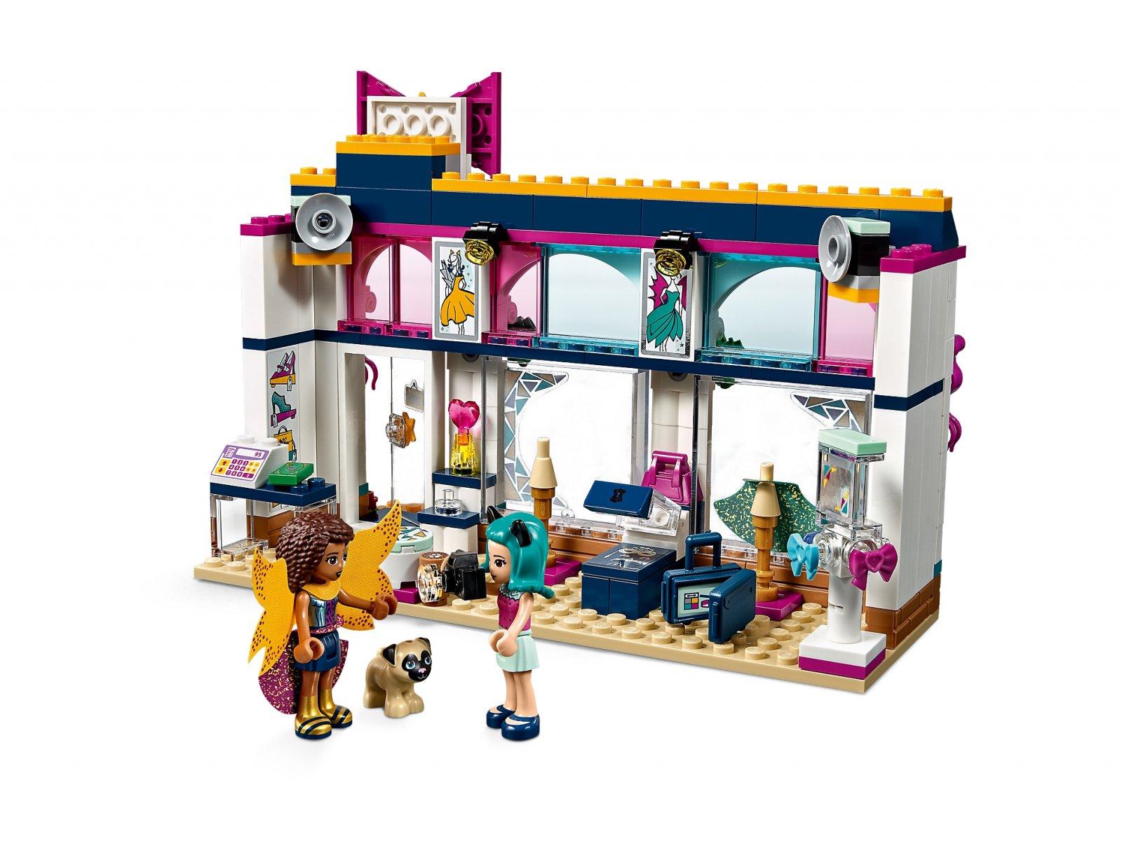 LEGO 41344 Friends Sklep z akcesoriami Andrei