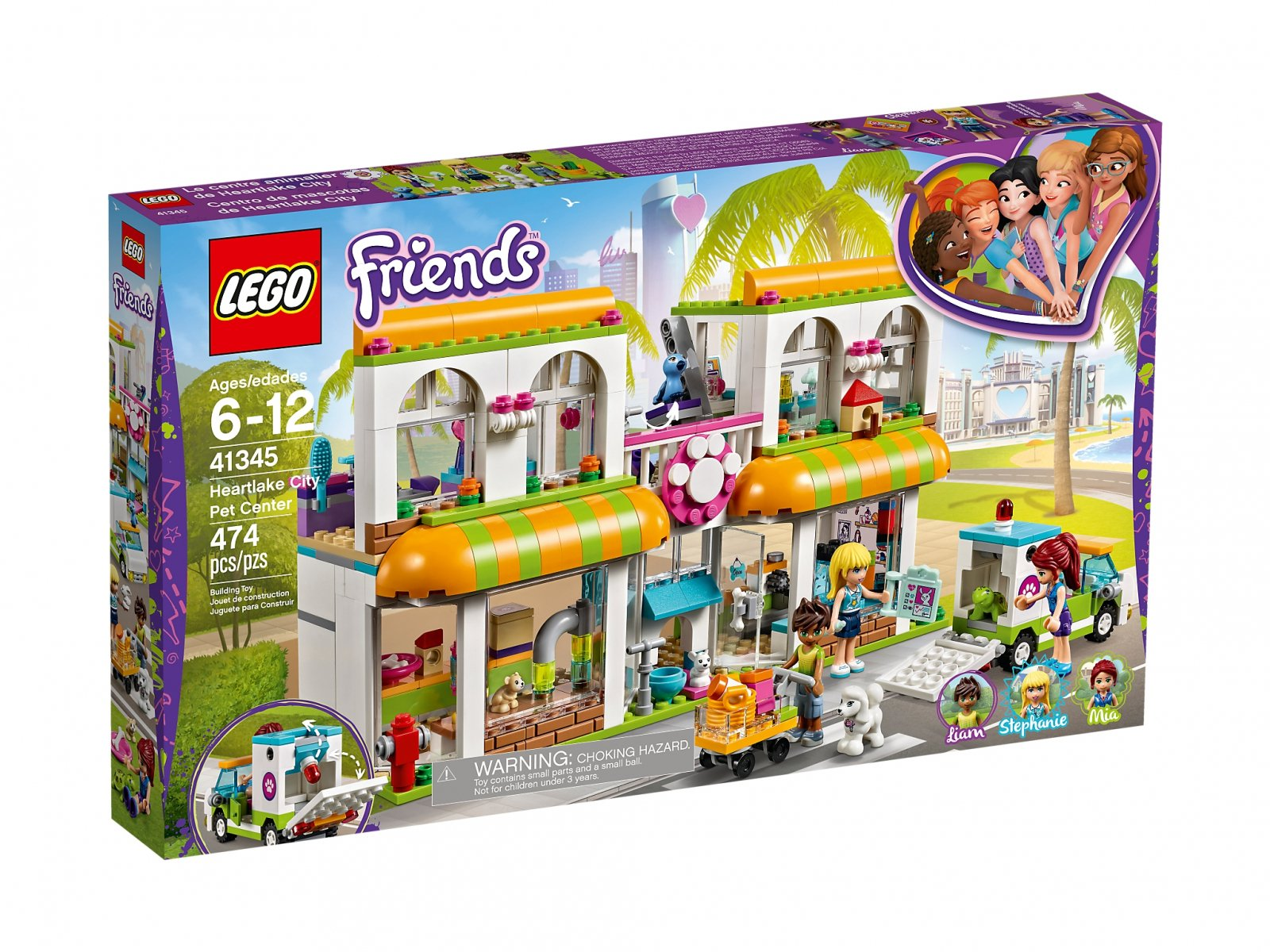 LEGO 41345 Friends Centrum zoologiczne w Heartlake