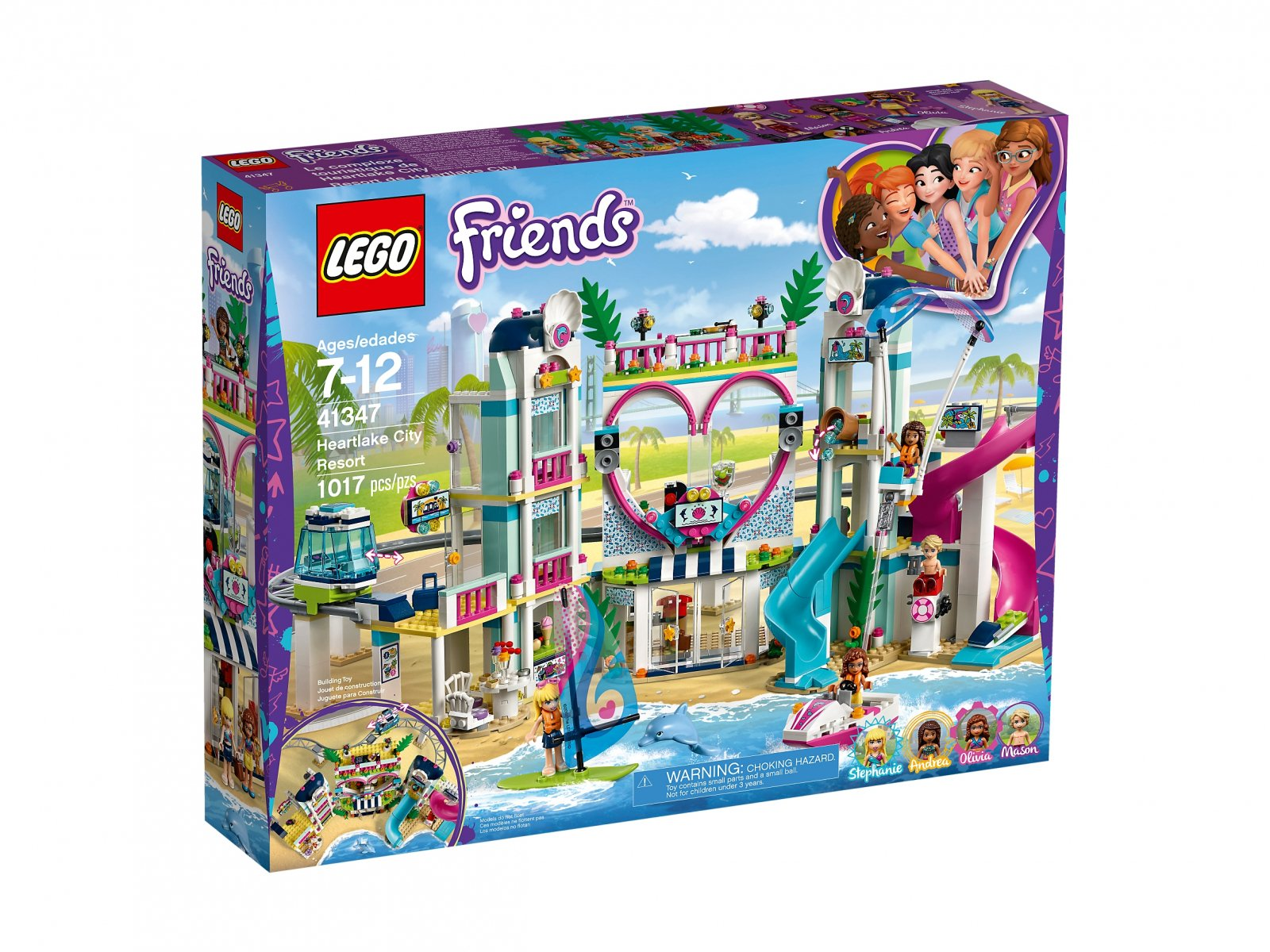 LEGO 41347 Friends Kurort w Heartlake