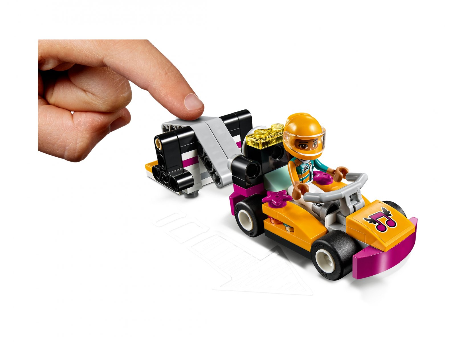 LEGO Friends Wyścigowa restauracja