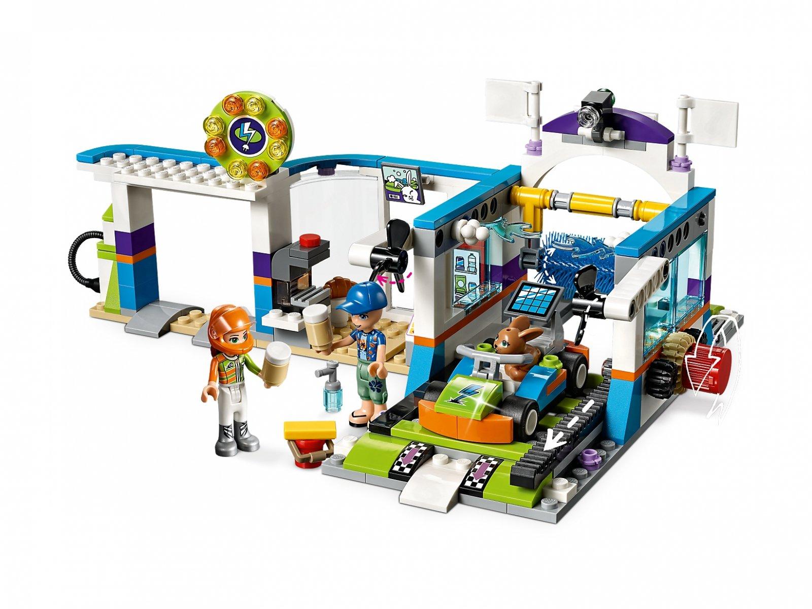 LEGO Friends Myjnia samochodowa 41350