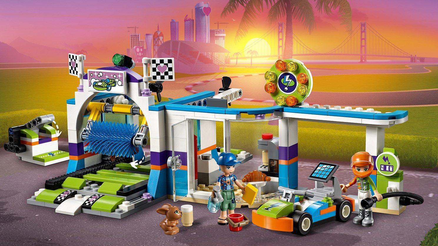 LEGO 41350 Myjnia samochodowa
