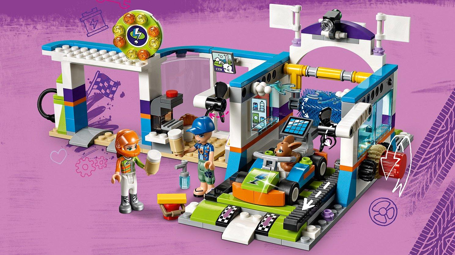 LEGO Friends 41350 Myjnia samochodowa