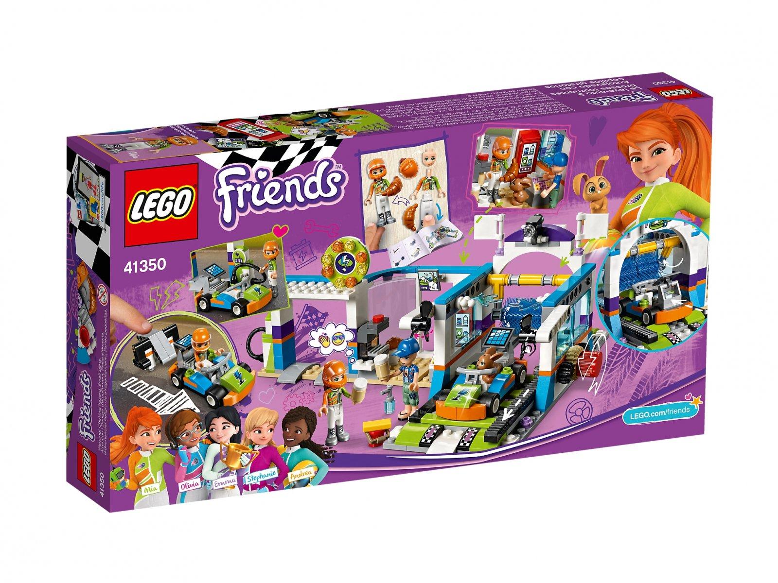 LEGO 41350 Friends Myjnia samochodowa