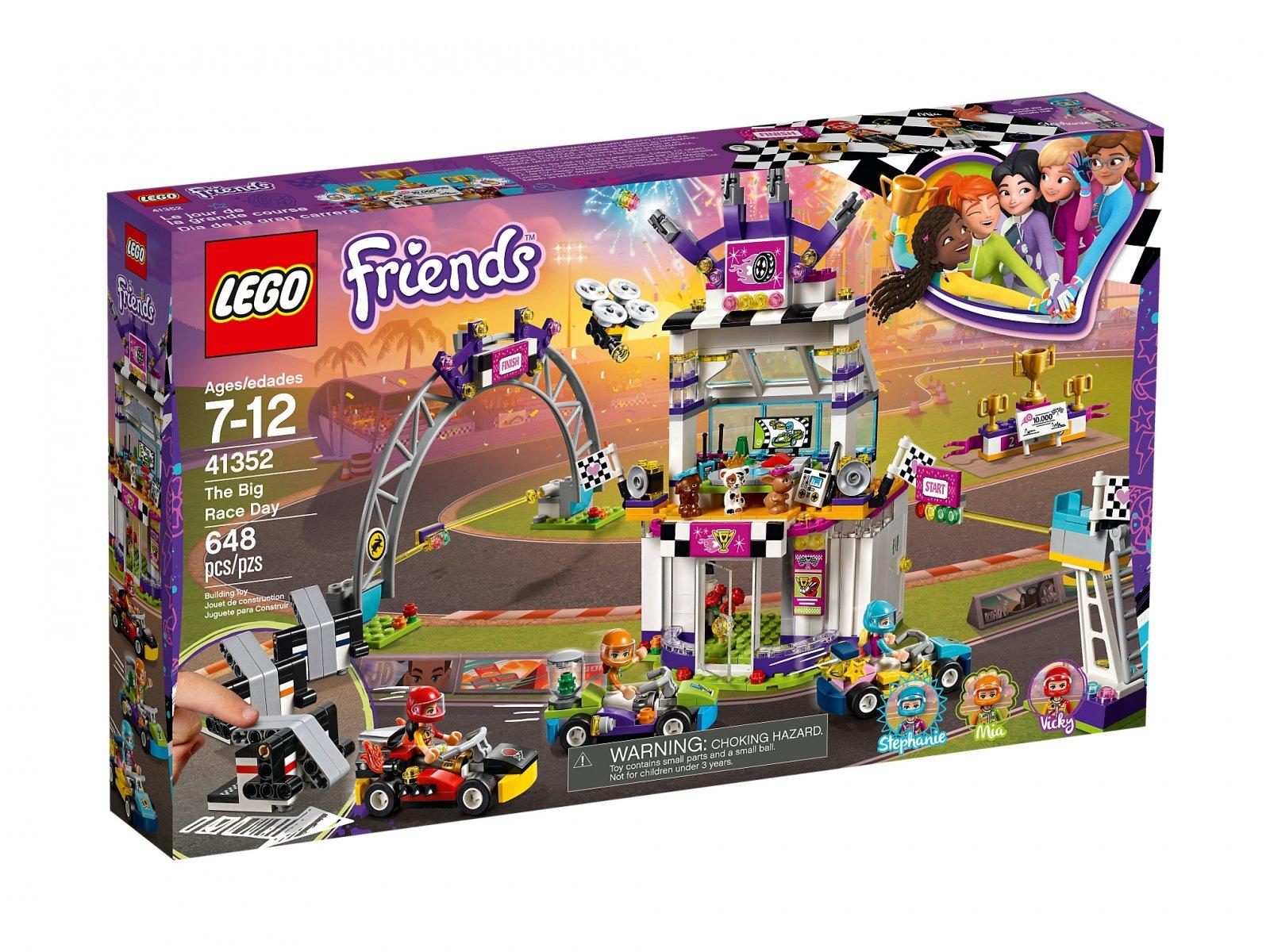 LEGO 41352 Dzień wielkiego wyścigu