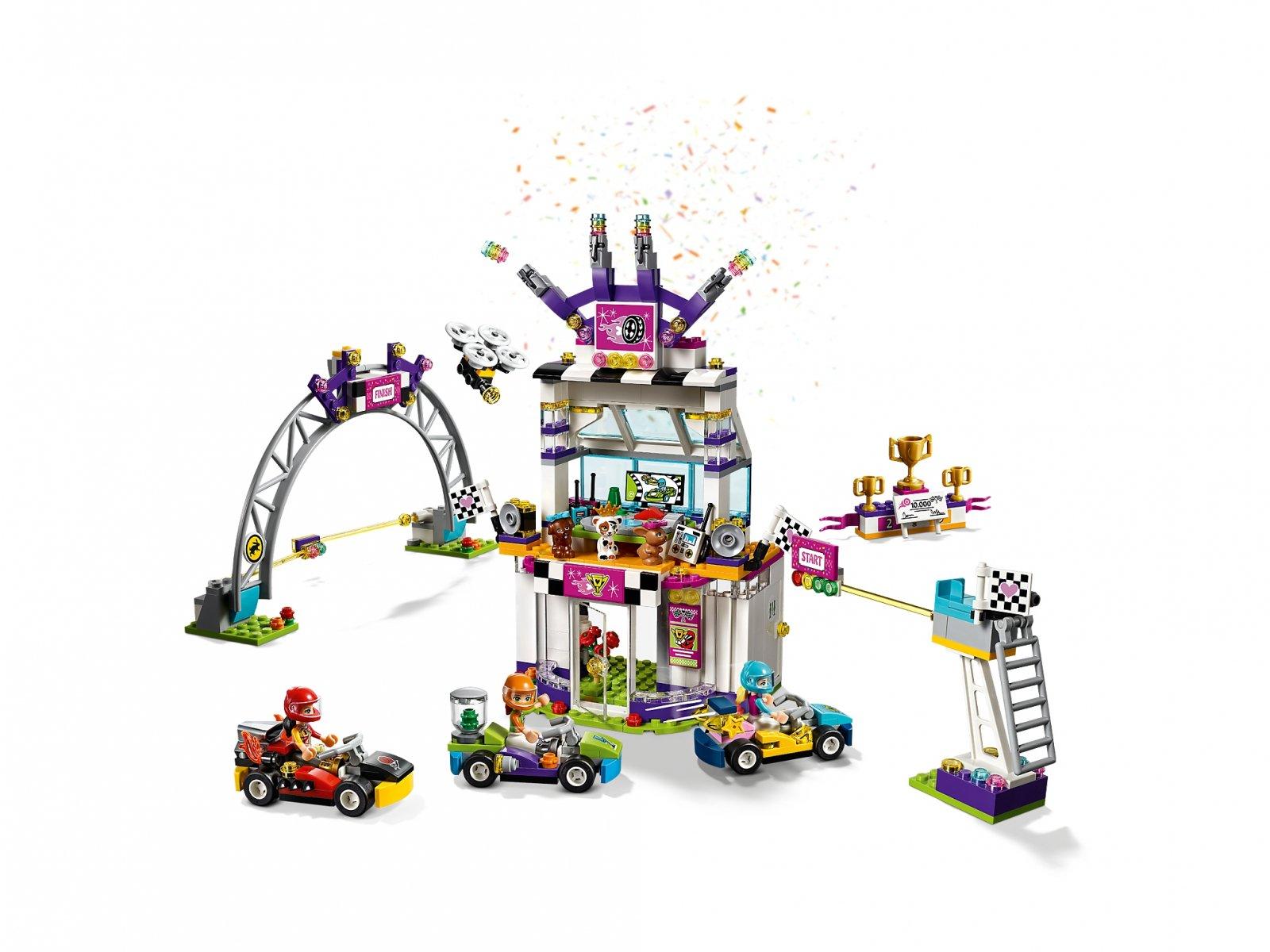 41352 Lego Friends Dzień Wielkiego Wyścigu