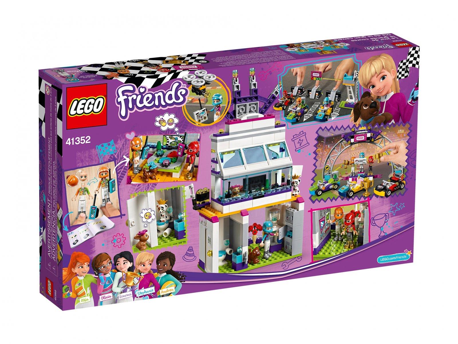 LEGO 41352 Friends Dzień wielkiego wyścigu