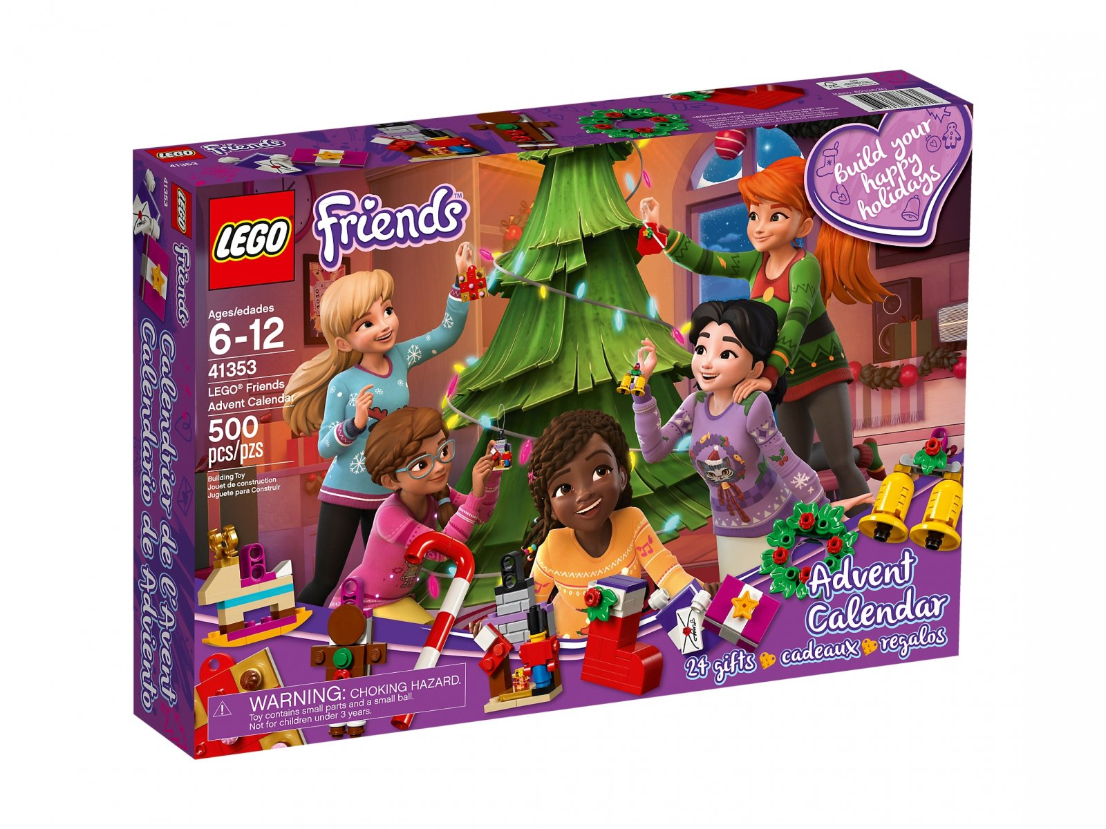 LEGO 41353 Friends Kalendarz adwentowy LEGO® Friends