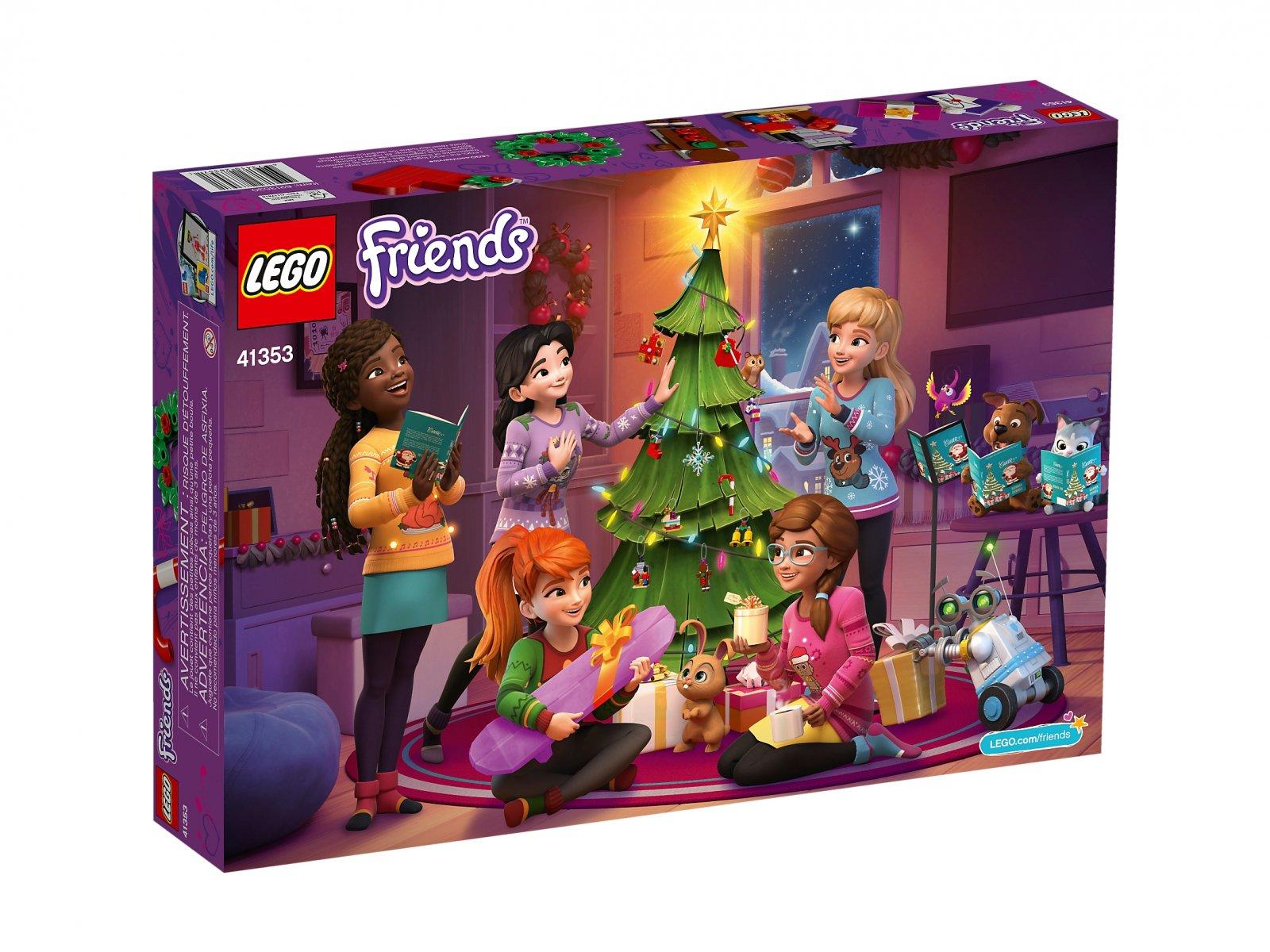 LEGO Friends Kalendarz adwentowy LEGO® Friends 41353