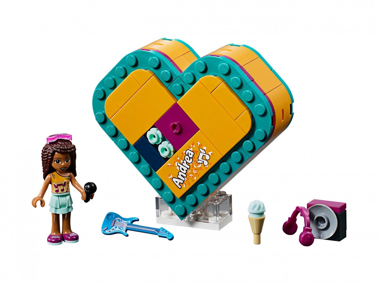 LEGO Friends 41354 Pudełko w kształcie serca Andrei
