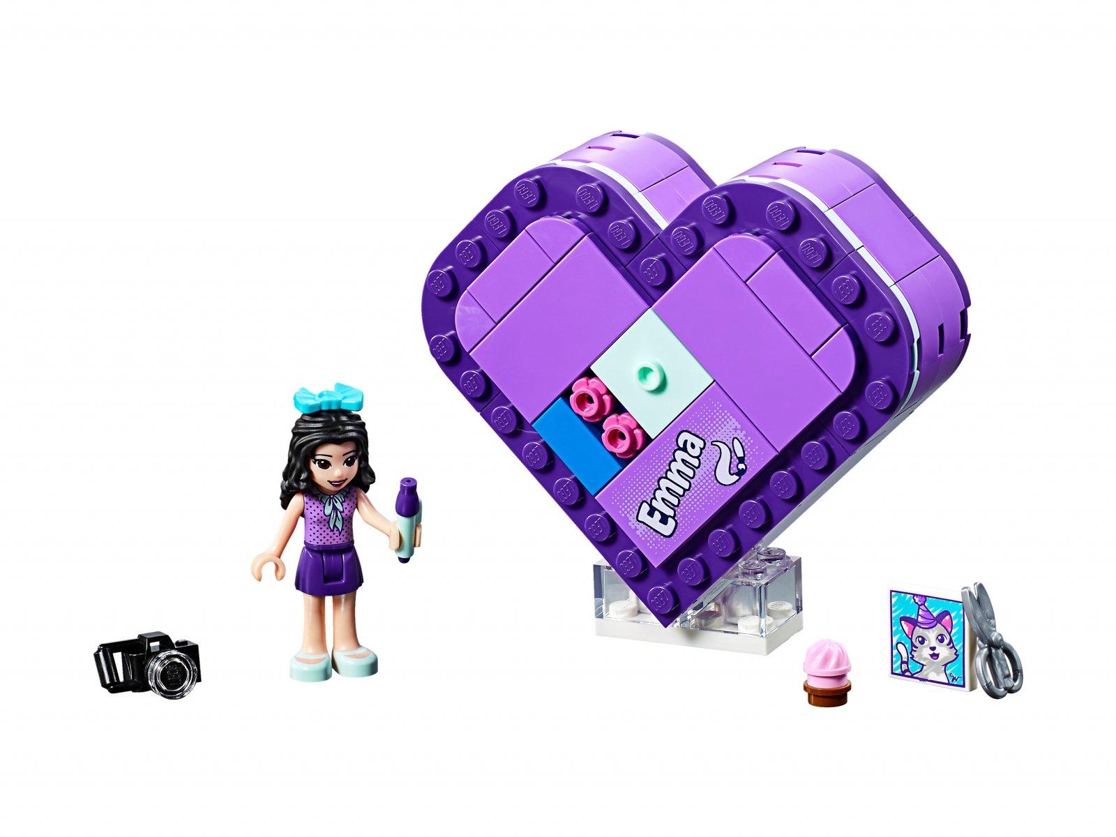 LEGO 41355 Friends Pudełko w kształcie serca Emmy