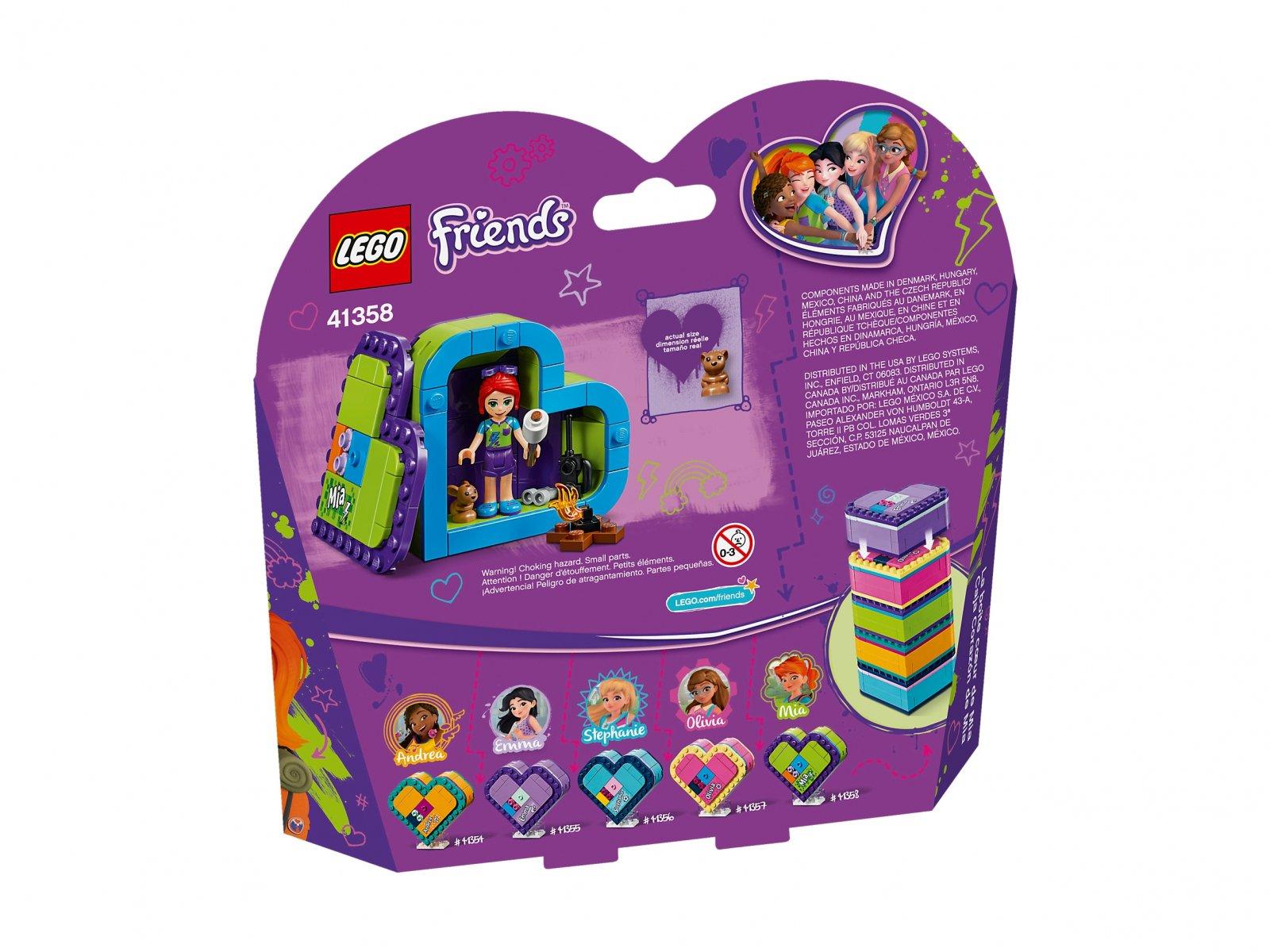 LEGO 41358 Friends Pudełko w kształcie serca Mii
