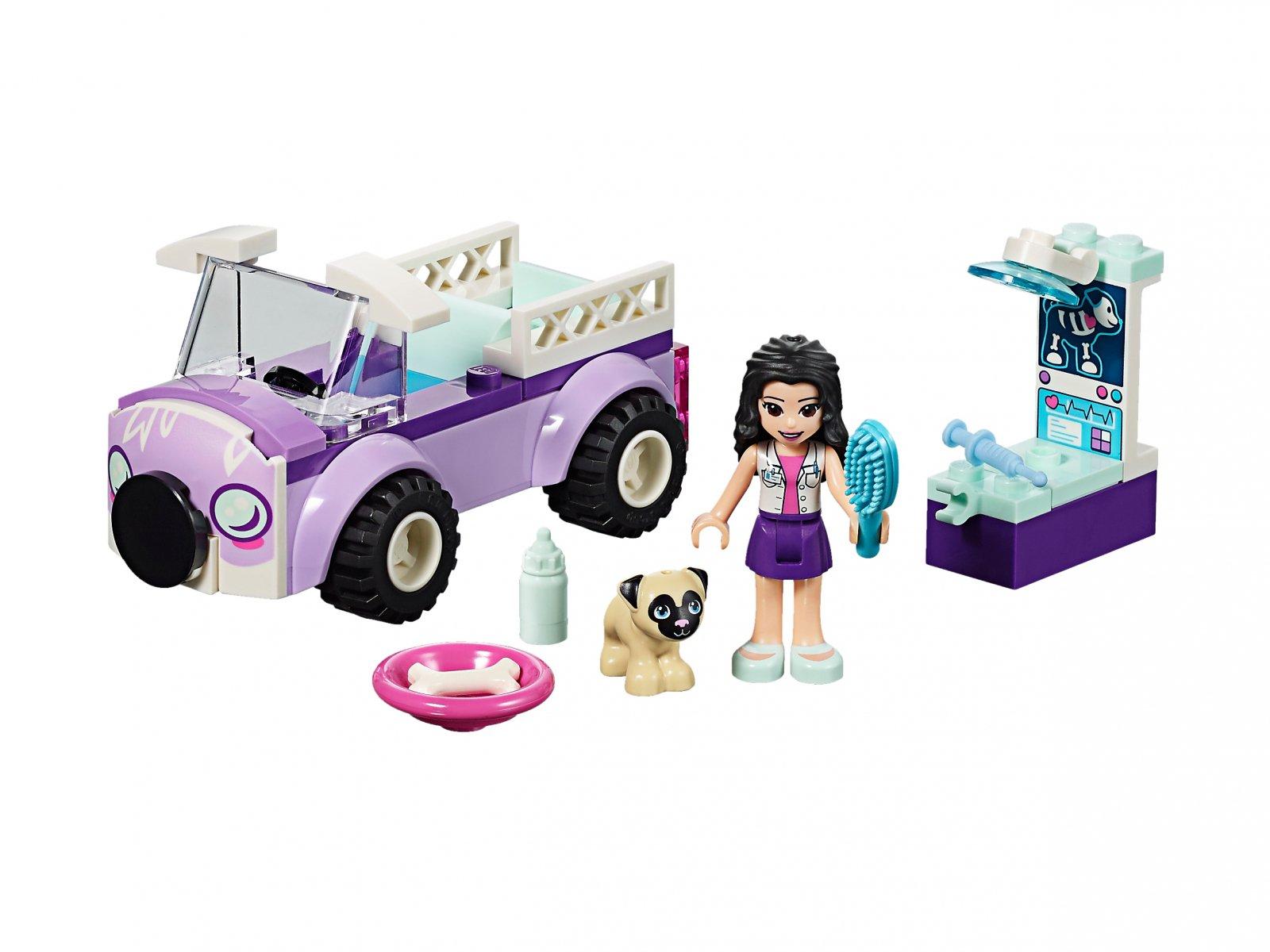LEGO Friends Mobilna klinika weterynaryjna Emmy