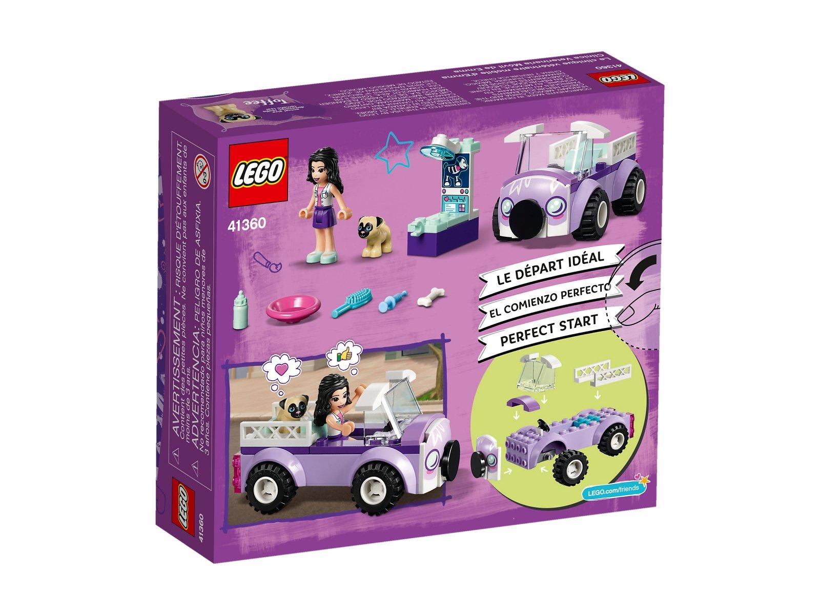 LEGO 41360 Mobilna klinika weterynaryjna Emmy