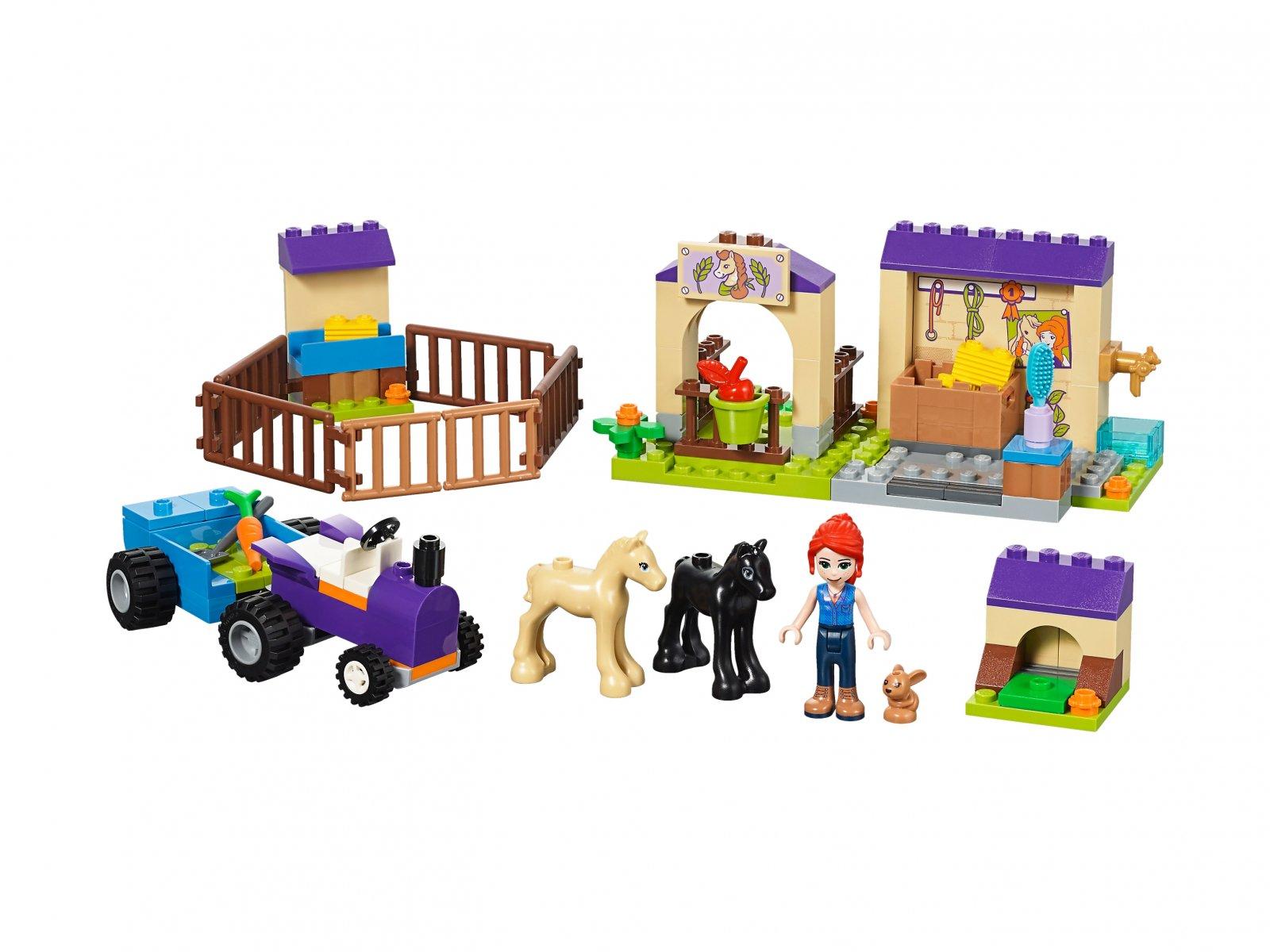 LEGO Friends Stajnia ze źrebakami Mii