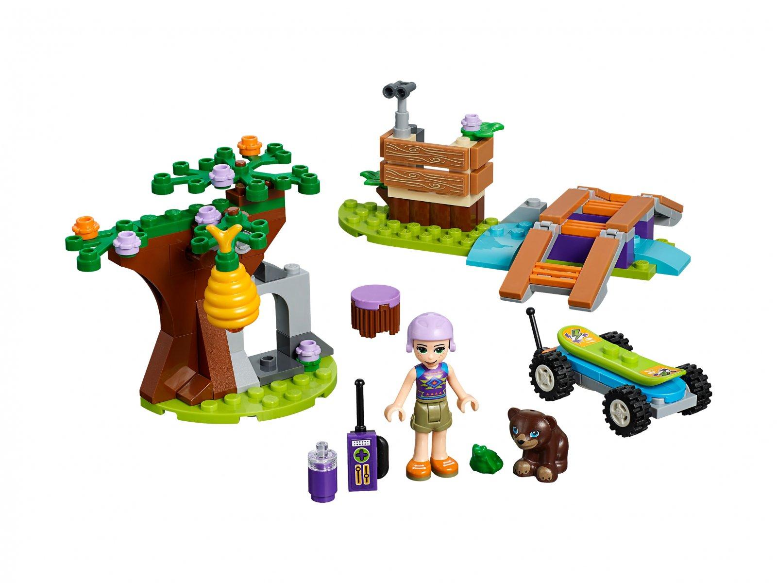 LEGO 41363 Friends Leśna przygoda Mii | zklocków.pl