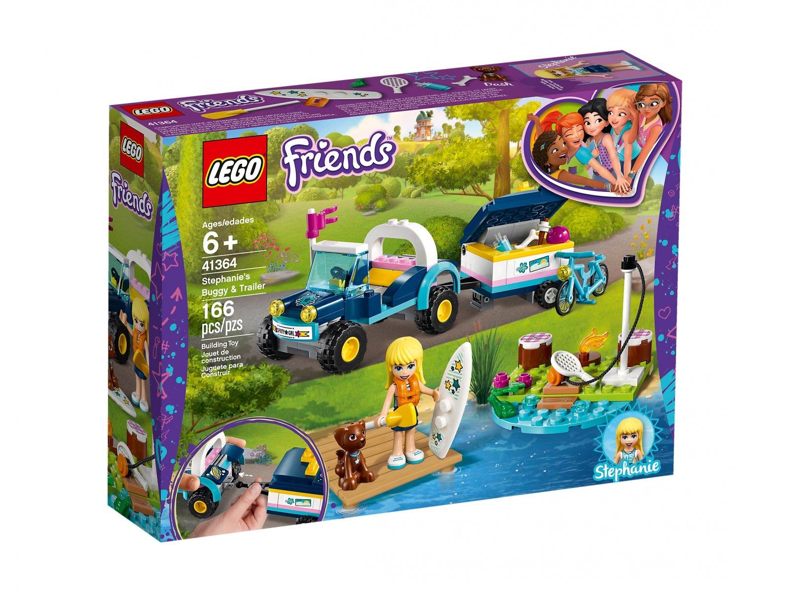 LEGO 41364 Friends Łazik z przyczepką Stephanie