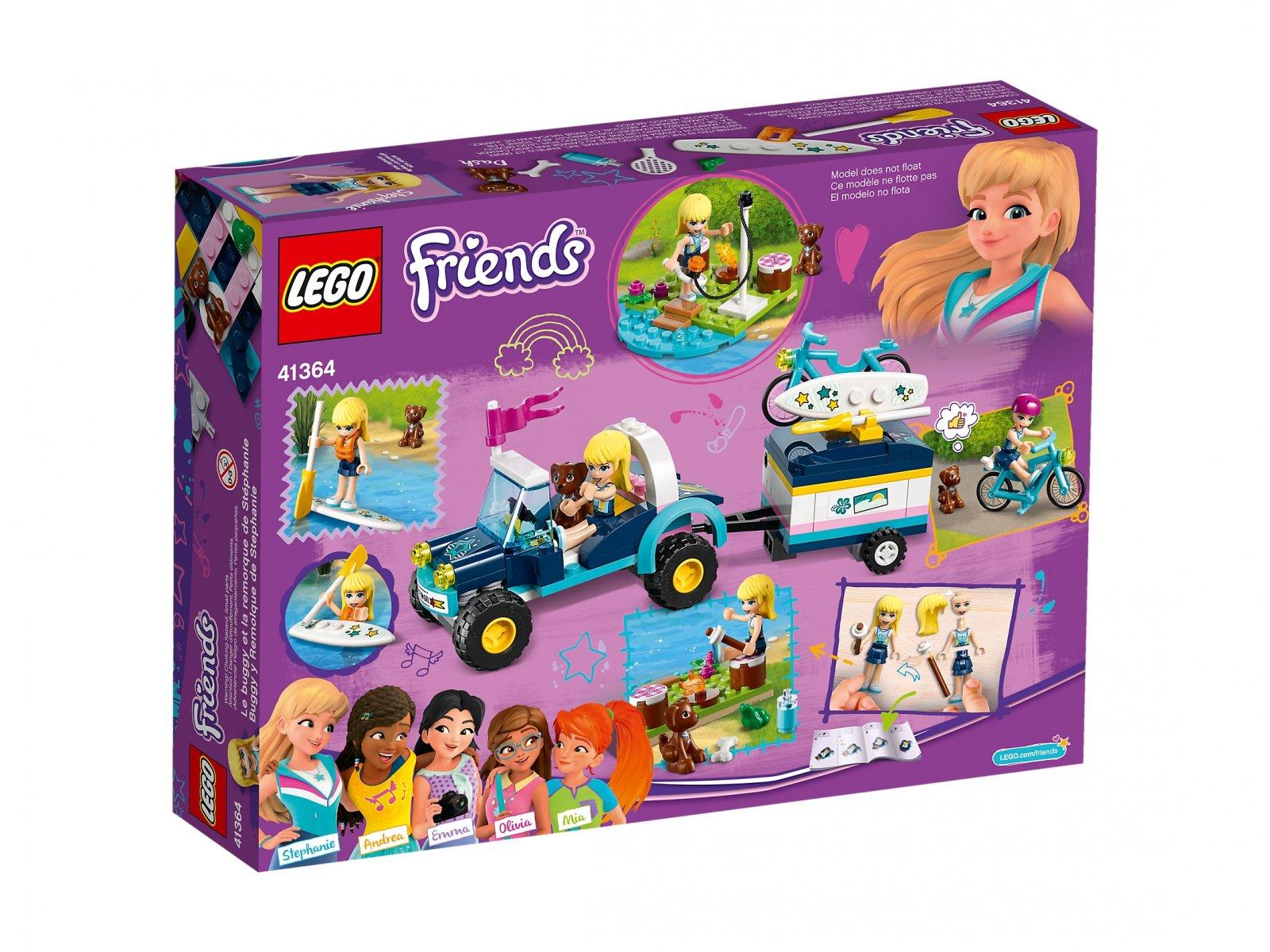 LEGO Friends Łazik z przyczepką Stephanie