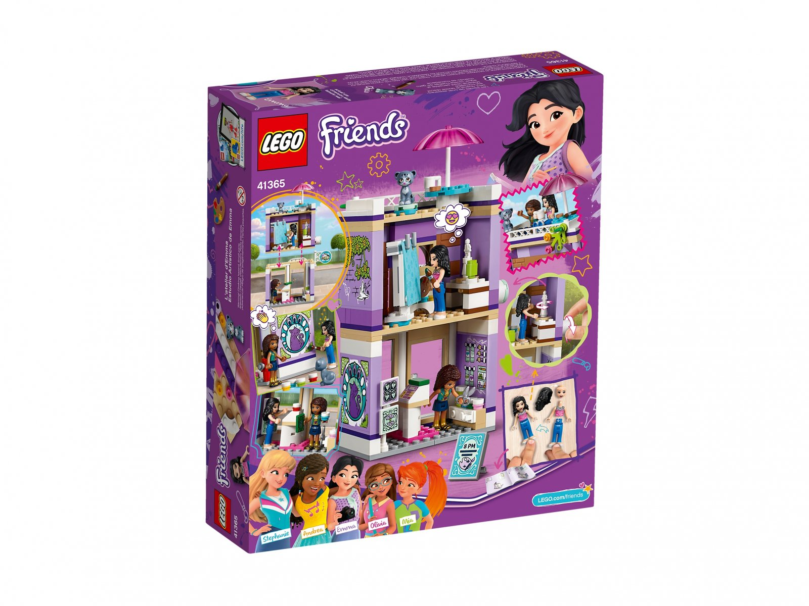 LEGO Friends Atelier Emmy