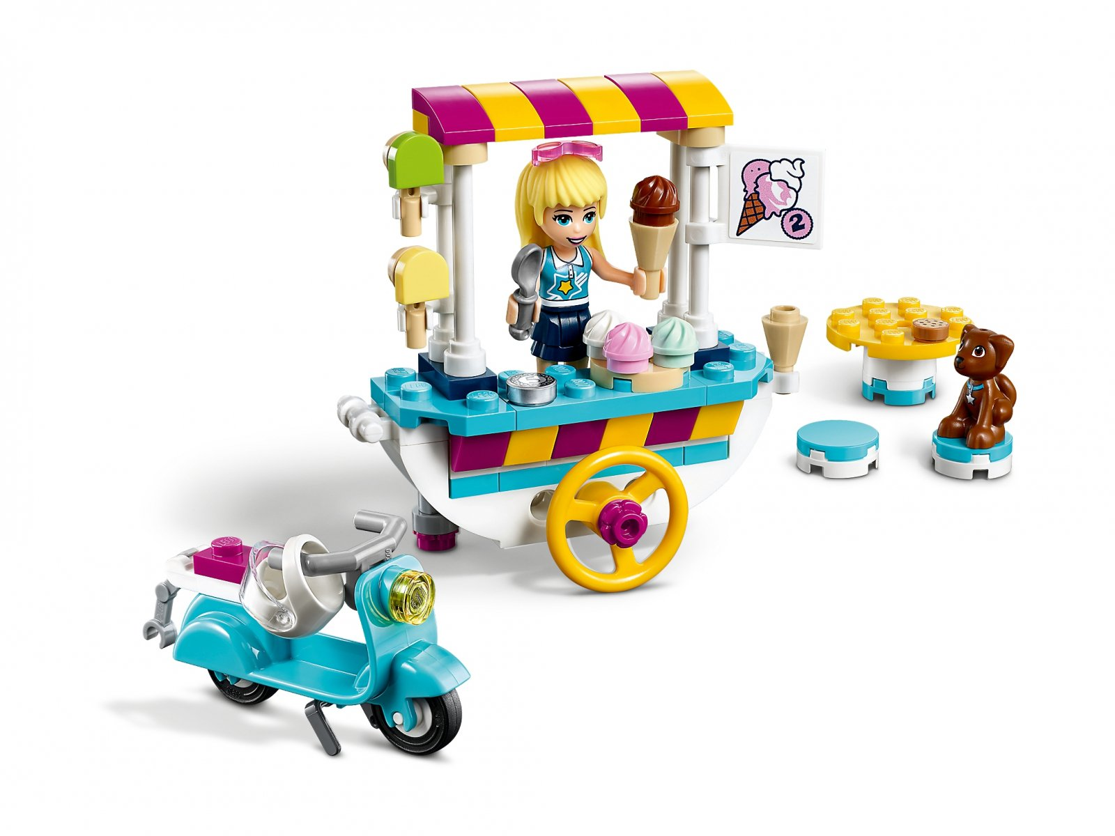 LEGO Friends Wózek z lodami 41389