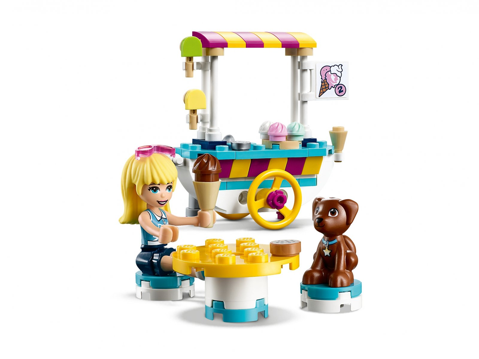 LEGO 41389 Wózek z lodami