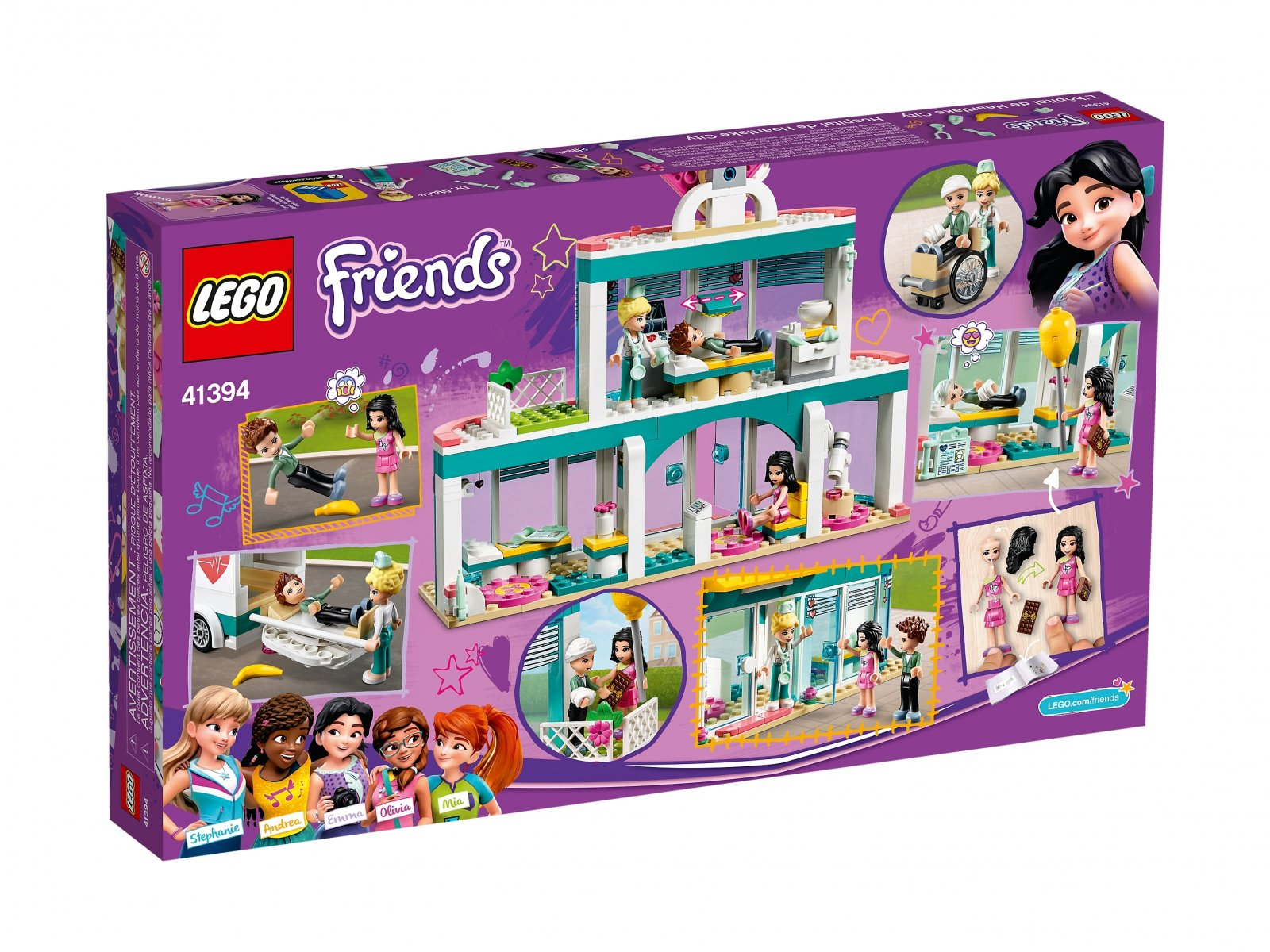 LEGO Friends Szpital w Heartlake 41394