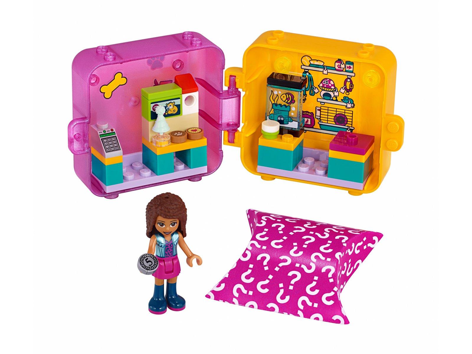LEGO 41405 Friends Kostka Andrei do zabawy w sklep