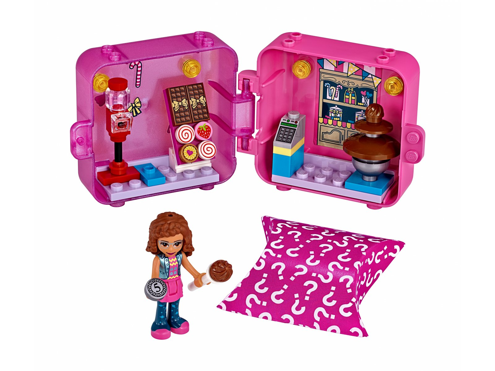 LEGO Friends 41407 Kostka Olivii do zabawy w sklep
