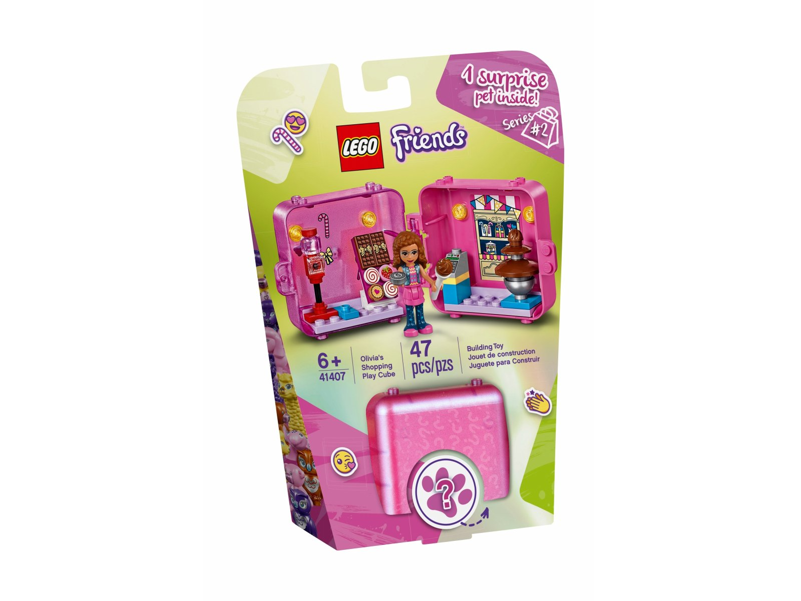 LEGO 41407 Kostka Olivii do zabawy w sklep