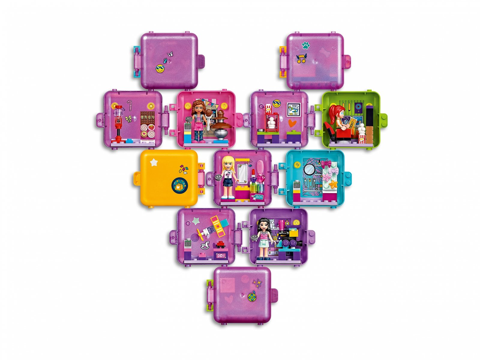 LEGO 41407 Friends Kostka Olivii do zabawy w sklep