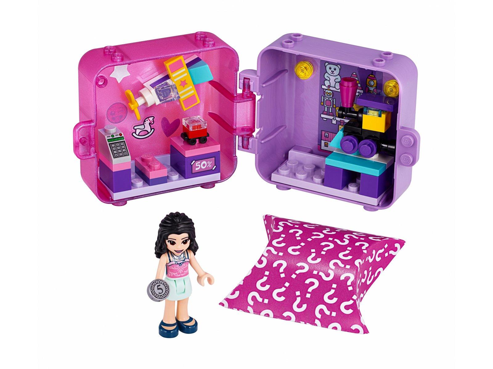 LEGO Friends 41409 Kostka Emmy do zabawy w sklep