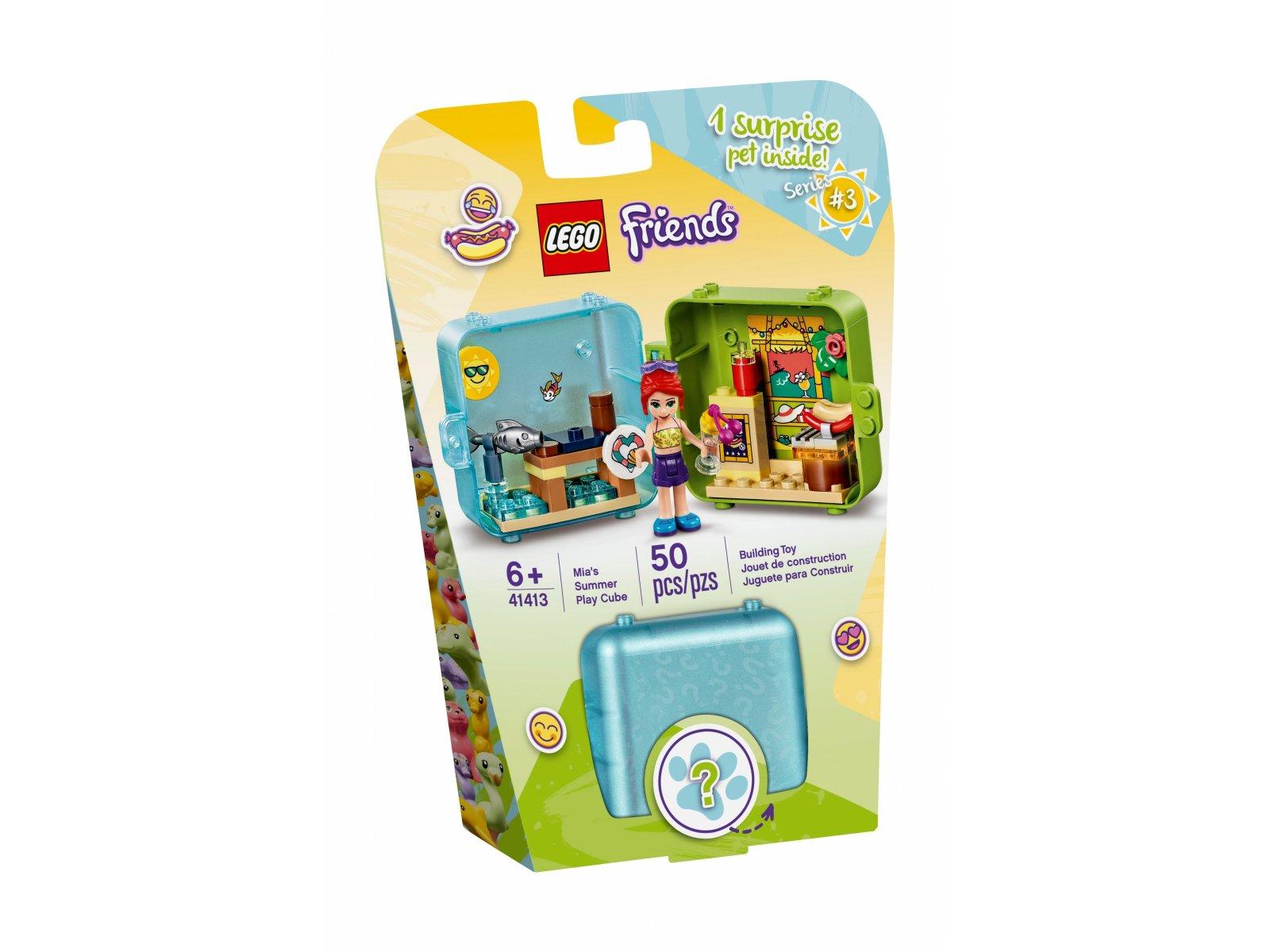 LEGO Friends 41413 Letnia kostka do zabawy Mii