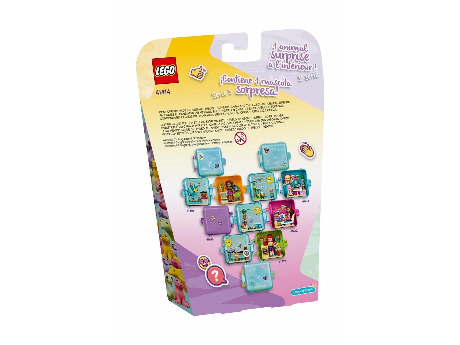LEGO 41414 Friends Letnia kostka do zabawy Emmy