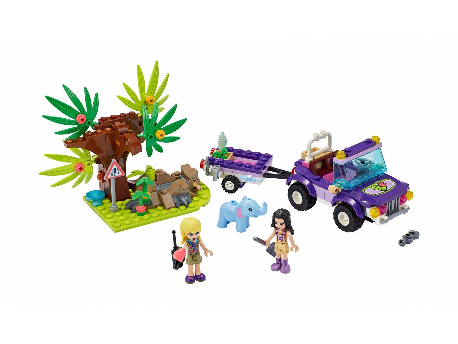 LEGO 41421 Friends Na ratunek słoniątku