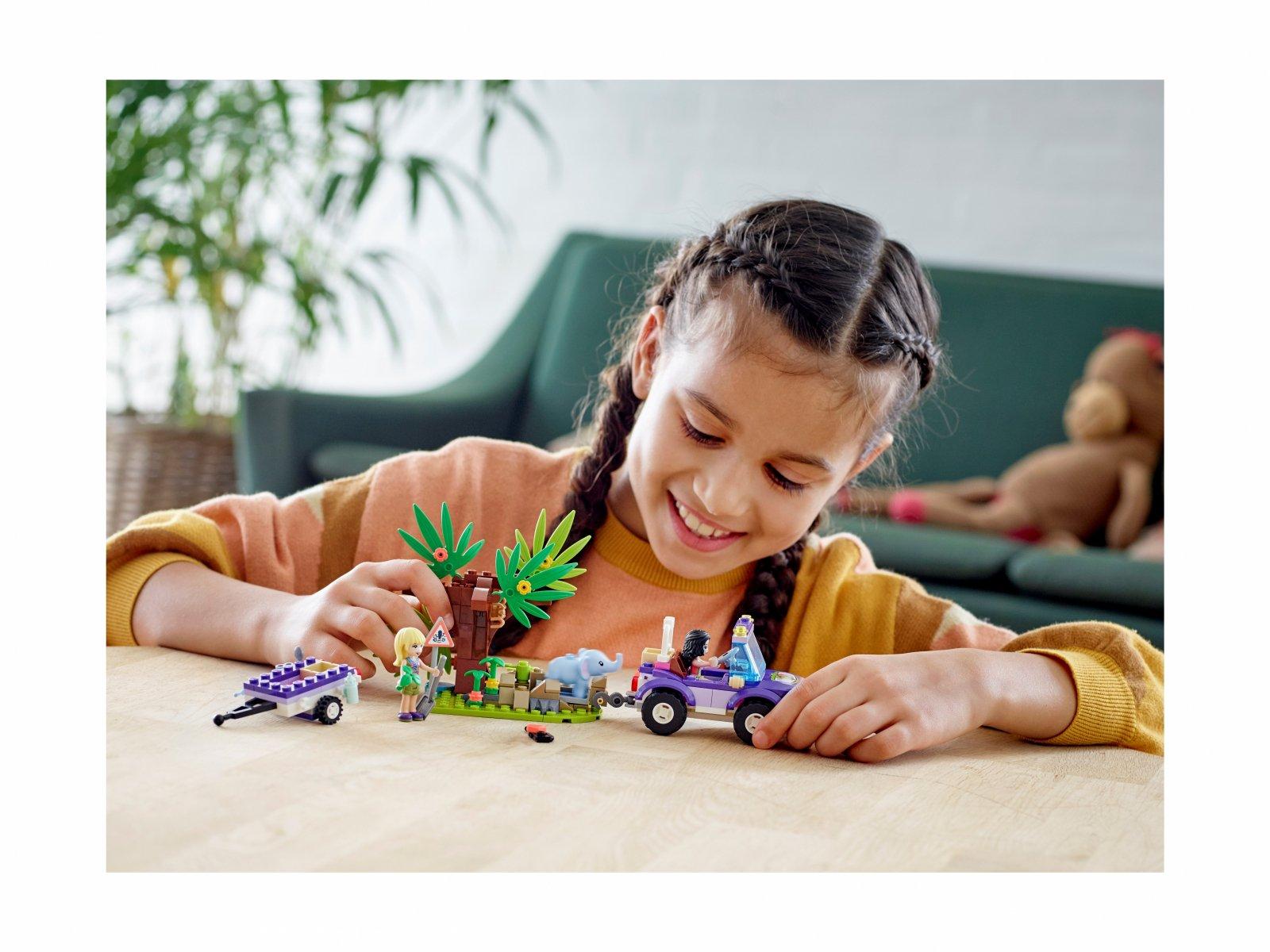LEGO Friends Na ratunek słoniątku 41421