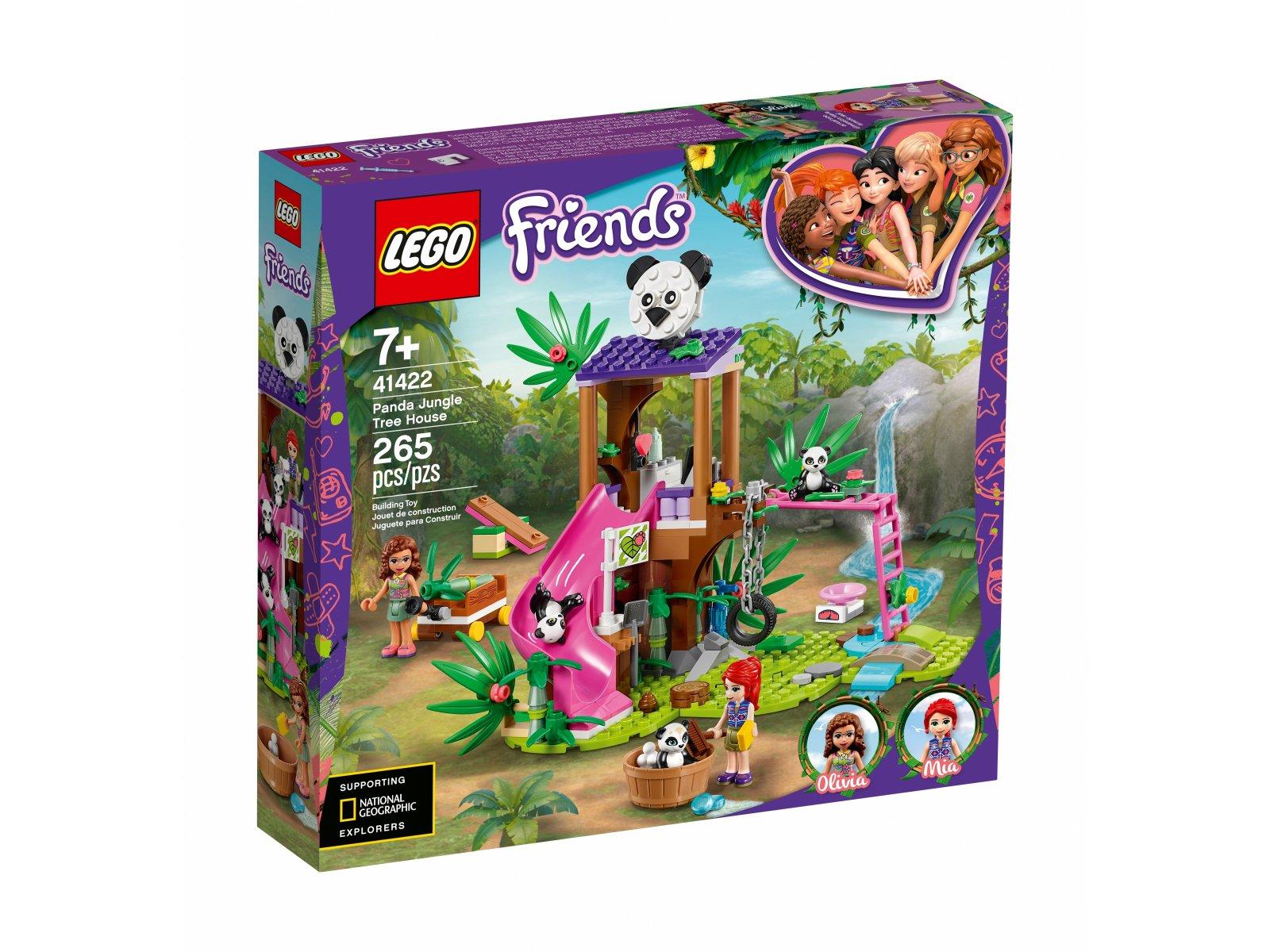LEGO 41422 Friends Domek pand na drzewie