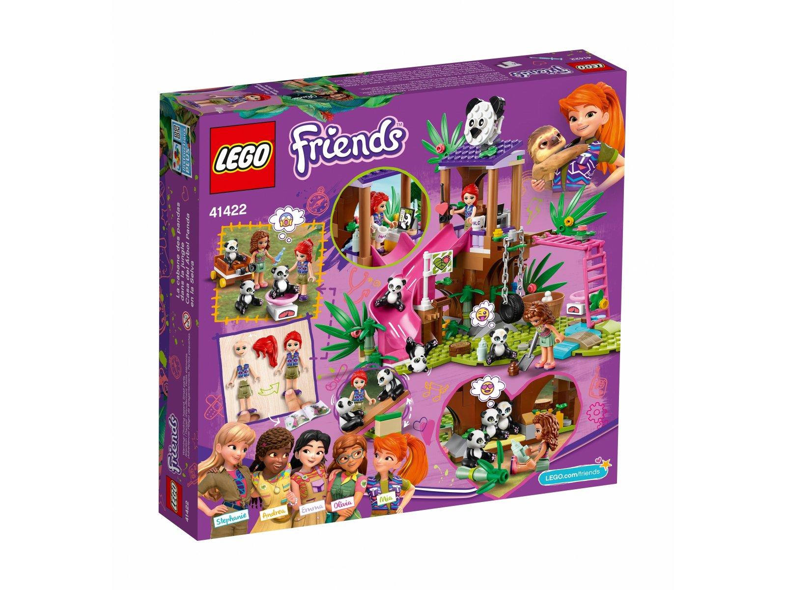 LEGO Friends 41422 Domek pand na drzewie