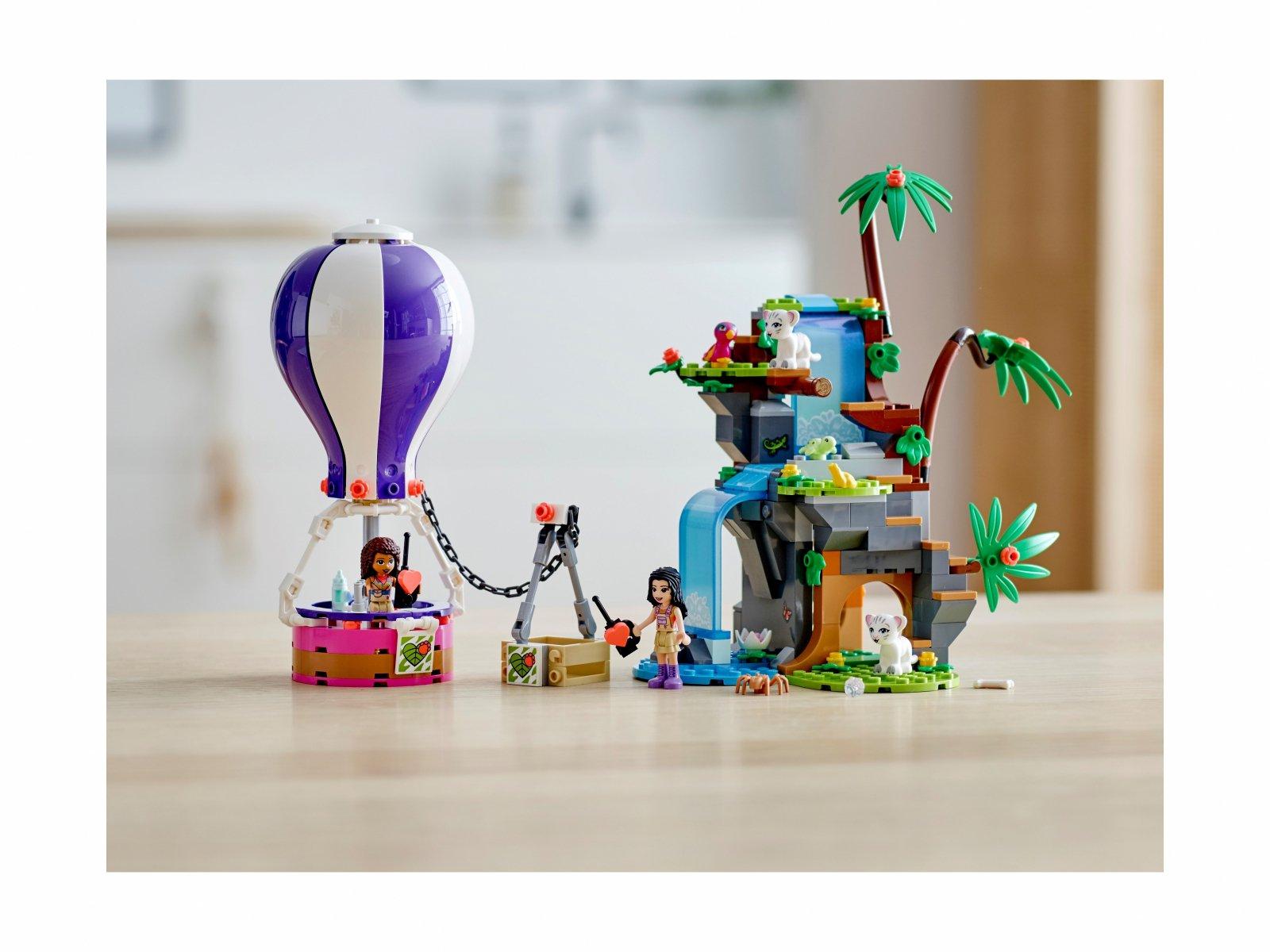 LEGO 41423 Friends Balonem na ratunek tygrysowi