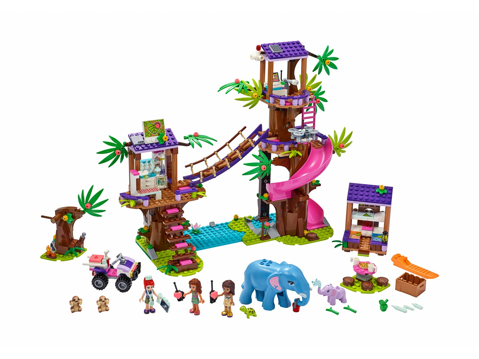 LEGO 41424 Friends Baza ratownicza